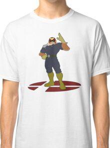Captain Falcon - Super Smash Bros Melee Classic T-Shirt