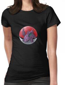 Nidorino pokeball - pokemon Womens Fitted T-Shirt