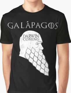 Darwin is Coming Graphic T-Shirt