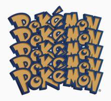 Pokemon logo Font by pokofu13