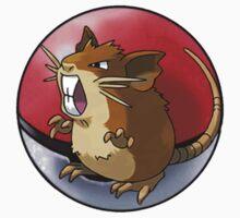 Raticate pokeball - pokemon by pokofu13