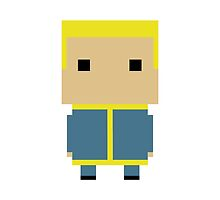 Pint Sized Vault Boy (Fallout)  by TFtruefrost