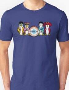 Sgt Poppers Penguin Marching Band Unisex T-Shirt