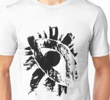 striking painting of monochrome eye Unisex T-Shirt
