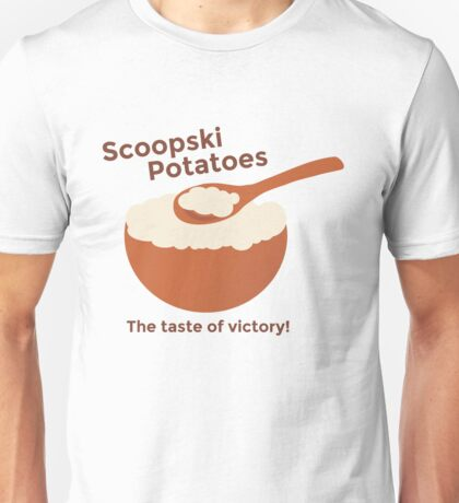 Impractical Jokers Scoopski Potatoes Sal Q Murr Joe Gatto Larry! Ferret! Funny TV Show  Unofficial Fan Art Unisex T-Shirt