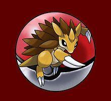 Sandslash pokeball - pokemon by pokofu13