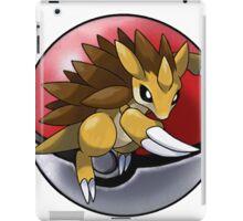 Sandslash pokeball - pokemon iPad Case/Skin