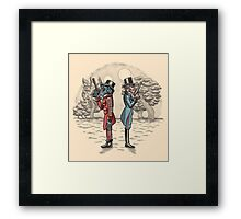 Cantina Duelists Framed Print