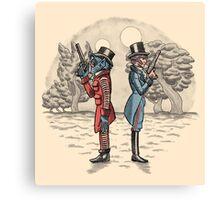 Cantina Duelists Canvas Print
