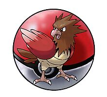 Spearow pokeball - pokemon Photographic Print