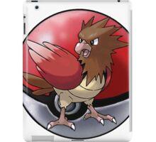 Spearow pokeball - pokemon iPad Case/Skin