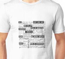 bts -  all songs Unisex T-Shirt