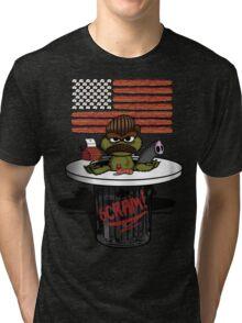 Oscar the Swanson Tri-blend T-Shirt