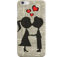"""""""I love you"""" Cute Couple - Dictionary Art.Perfect Gift! iPhone Case/Skin"""