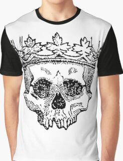 Crowned Skull Graphic T-Shirt