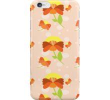 Flower 216 orange iPhone Case/Skin