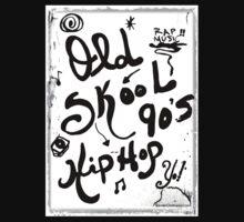Rachel Doodle Art - Old-Skool 90's Hip-Hop by Rachel Maynard