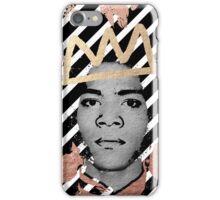 Copper Basquiat iPhone Case/Skin