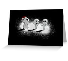 Snowdama Greeting Card