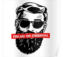 Hipster - ONE:Print Poster