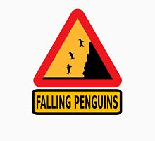 FALLING PENGUINS (Warning Sign) T-Shirt