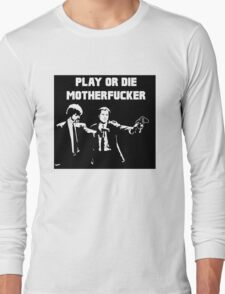 Lets play PULP FICTION Long Sleeve T-Shirt