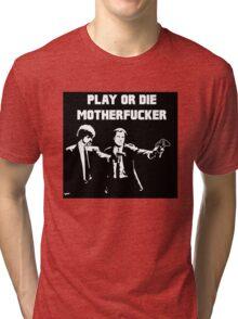 Lets play PULP FICTION Tri-blend T-Shirt