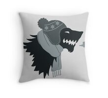 Winter is Coming! Throw Pillow