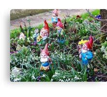 Garden Gnome VRS2 Canvas Print