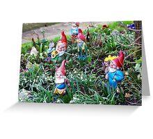 Garden Gnome VRS2 Greeting Card
