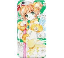 Sakura vs. Time iPhone Case/Skin