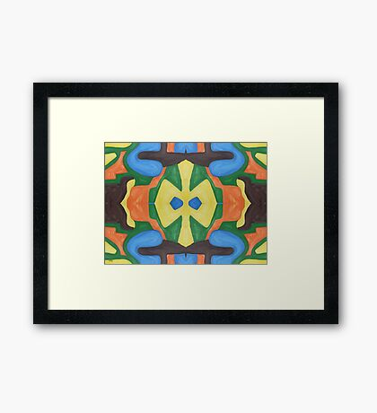 ABSTRACT 534 Framed Print