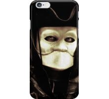 Spooky mask of Venetian tradition iPhone Case/Skin