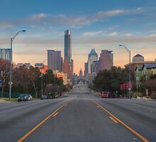 Austin Skyline and Capitol on a February Morning by RobGreebonPhoto