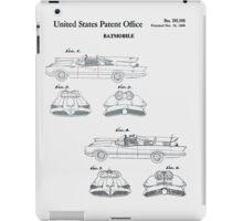 Batmobile Car Patent 1966 iPad Case/Skin