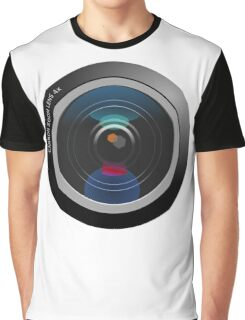 Camera Lens Graphic T-Shirt