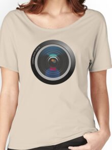 Camera Lens Women's Relaxed Fit T-Shirt