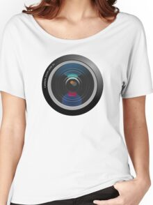 Camera Lens Women's Relaxed Fit T-Shirt