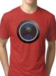Camera Lens Tri-blend T-Shirt