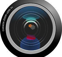 Camera Lens by tshirtdesign
