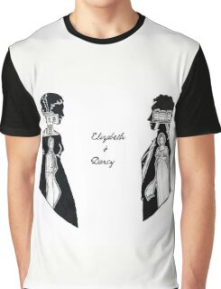Elizabeth and Darcy Graphic T-Shirt