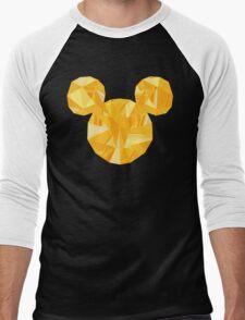 Pop Gold Men's Baseball ¾ T-Shirt