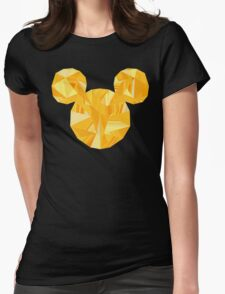 Pop Gold Womens Fitted T-Shirt