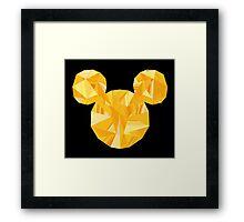 Pop Gold Framed Print