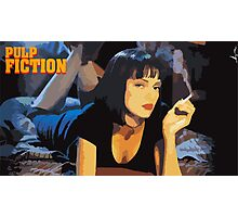 Pulp Fiction Mia Wallace Photographic Print
