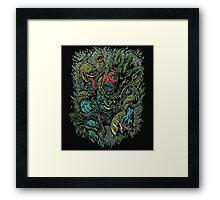 Plants vs Zombies! Framed Print