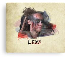 Lexa - The 100 -2 Canvas Print