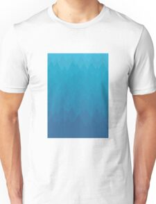 Mountain Range On Ice Unisex T-Shirt