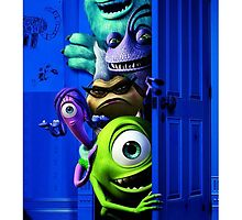 Monster Inc Movie by albabulul946
