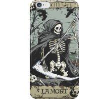 Death Card iPhone Case/Skin